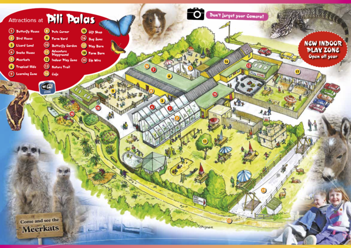 Pili palas map 2019